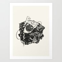 Infinity Slide Art Print