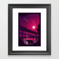 Over Passed Framed Art Print