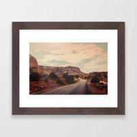 Desert Solitude Framed Art Print