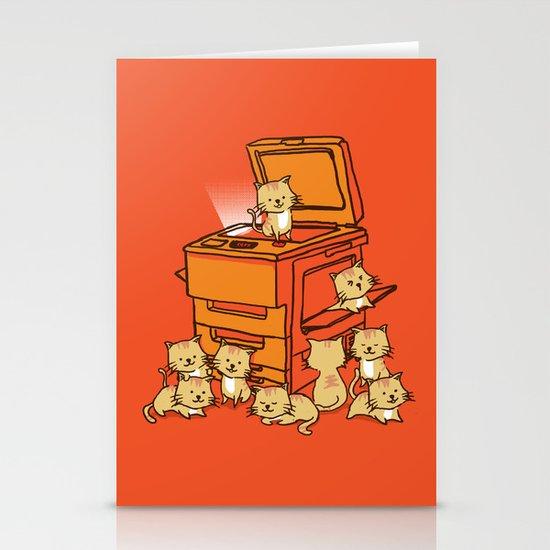 The Original Copycat Stationery Card