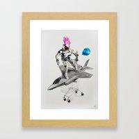 Abjectified: Skunk Works Framed Art Print