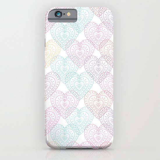 Patterns Of My Heart iPhone & iPod Case