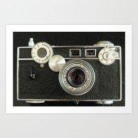 Vintage Range Finder Cam… Art Print