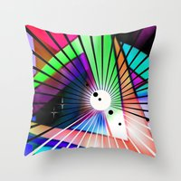Laptop Motiv 9. Throw Pillow