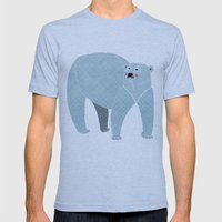 Polar Bear Mens Fitted Tee Athletic Blue SMALL