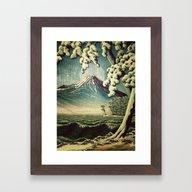 5 Lakes At Moonlight Framed Art Print