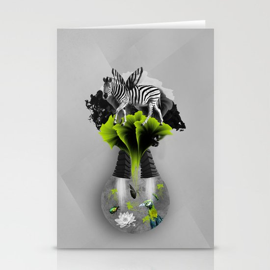 There's ecology in every drop Stationery Card