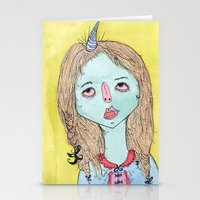 MI CUERNO Stationery Cards