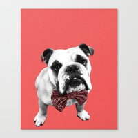 Red Bowser Canvas Print