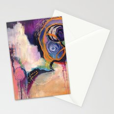 Lace & Spiral Stationery Cards