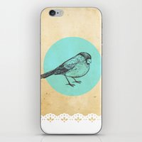 Spotted bird iPhone & iPod Skin