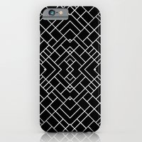 PS Grid 45 Black iPhone 6 Slim Case