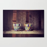 Lonesome Colorfuls Canvas Print