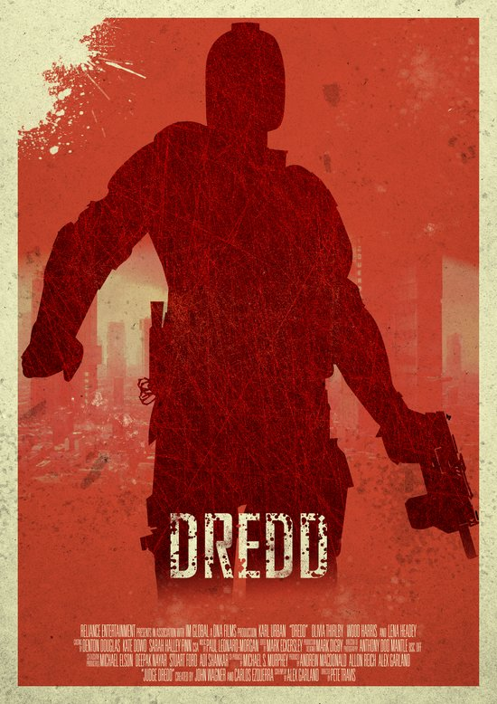 Dredd - I Am The Law Art Print