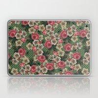 Vintage Rose Pattern Laptop & iPad Skin