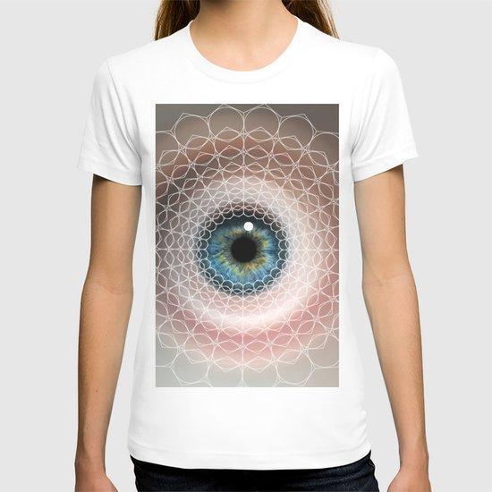 Spirographic Eye Geometry, Nature's shapes T-shirt