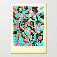 - summer jump - Canvas Print