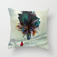 Soh:adoe Throw Pillow