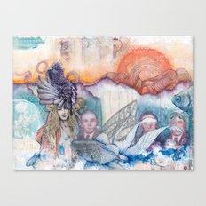 Sunset Gala Canvas Print