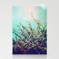 Holga Flowers I  Stationery Cards
