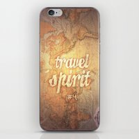 Travel Spirit #4 iPhone & iPod Skin