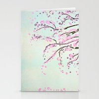 Cherry Tree Stationery Cards