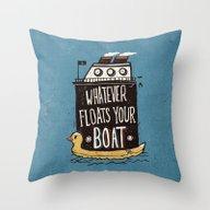 Quotes Throw Pillow