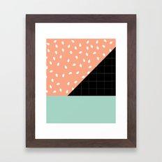 Testing Framed Art Print