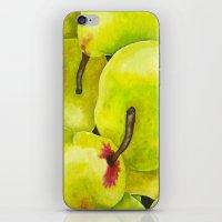 Fresh Pears iPhone & iPod Skin