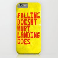 iPhone & iPod Case featuring Falling by Fimbis