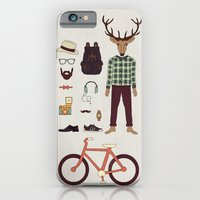 iPhone & iPod Case featuring Deer Boy by basilique