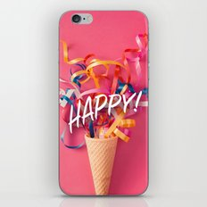 Happy! iPhone & iPod Skin