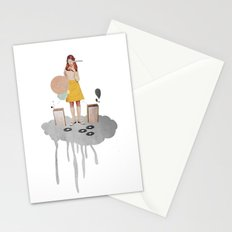 ON / ... | Collage Stationery Cards