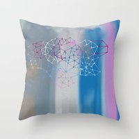 Transparent Cloud Throw Pillow