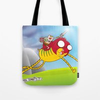 Power Time Tote Bag