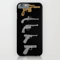 iPhone & iPod Case featuring A long time ago with a blaster far, far away... by Resistance