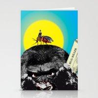 Bug killer Stationery Cards