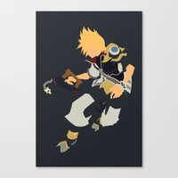 Kingdom Hearts - Ventus Canvas Print