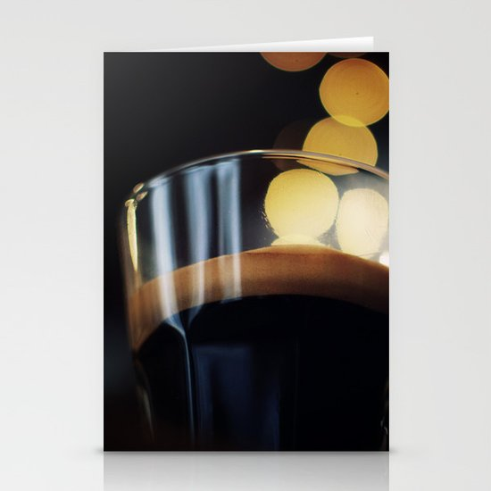 Espresso Stationery Card