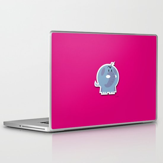 Angry Elefant Laptop & iPad Skin