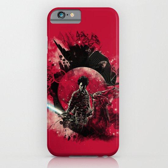 bad side of the samurai iPhone & iPod Case