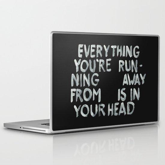 In your head Laptop & iPad Skin