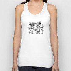 Ampersand Elephant Unisex Tank Top