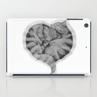 Cuddling Cats iPad Case