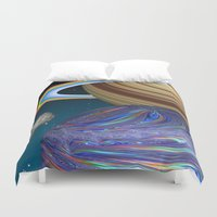 The Saturn Phenomenon Duvet Cover
