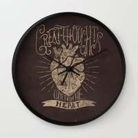 Great Thoughts  Wall Clock