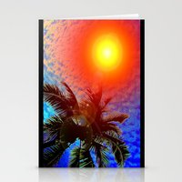January in Miami Stationery Cards