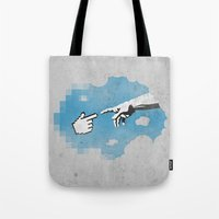 On The 101110010th Day..… Tote Bag