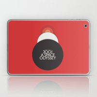 2001 A Space Odyssey - Stanley Kubrick Poster, Red Version Laptop & iPad Skin