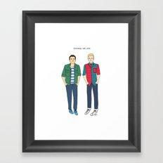 Raymond and Lane Framed Art Print